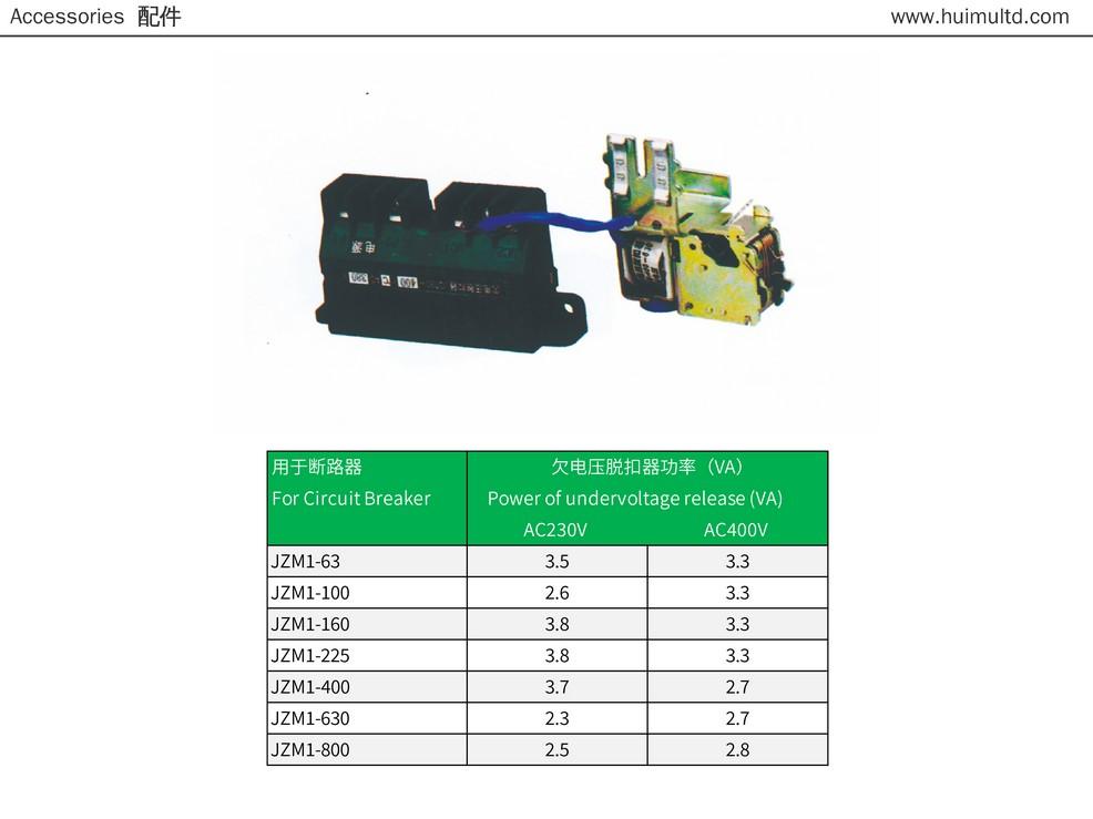 JZM1 Series Technical data-sheet 2
