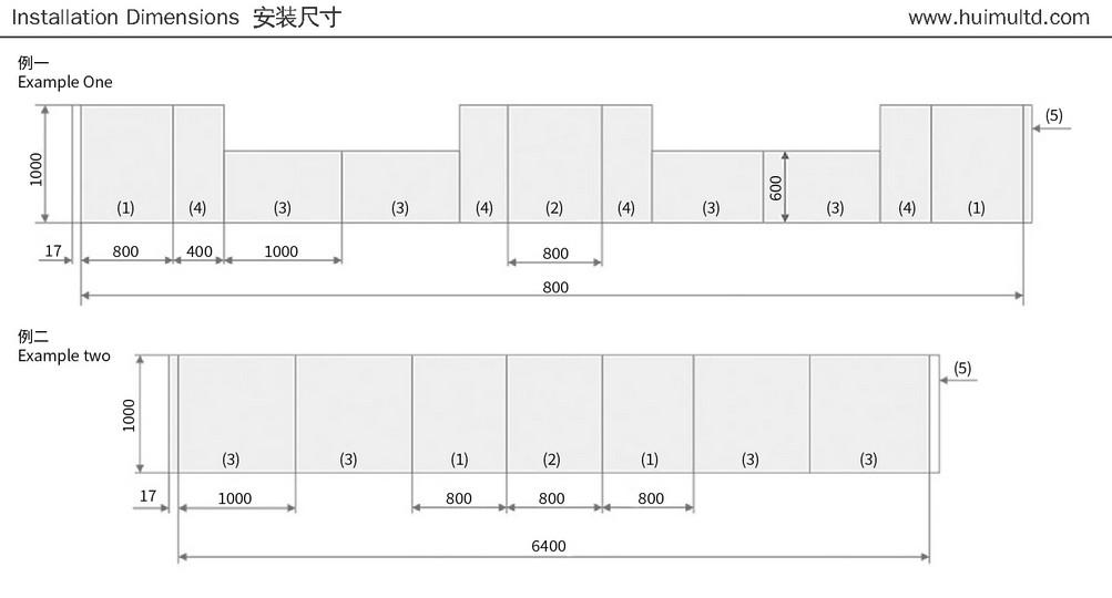 MNS Series Schematic diagram of combination method